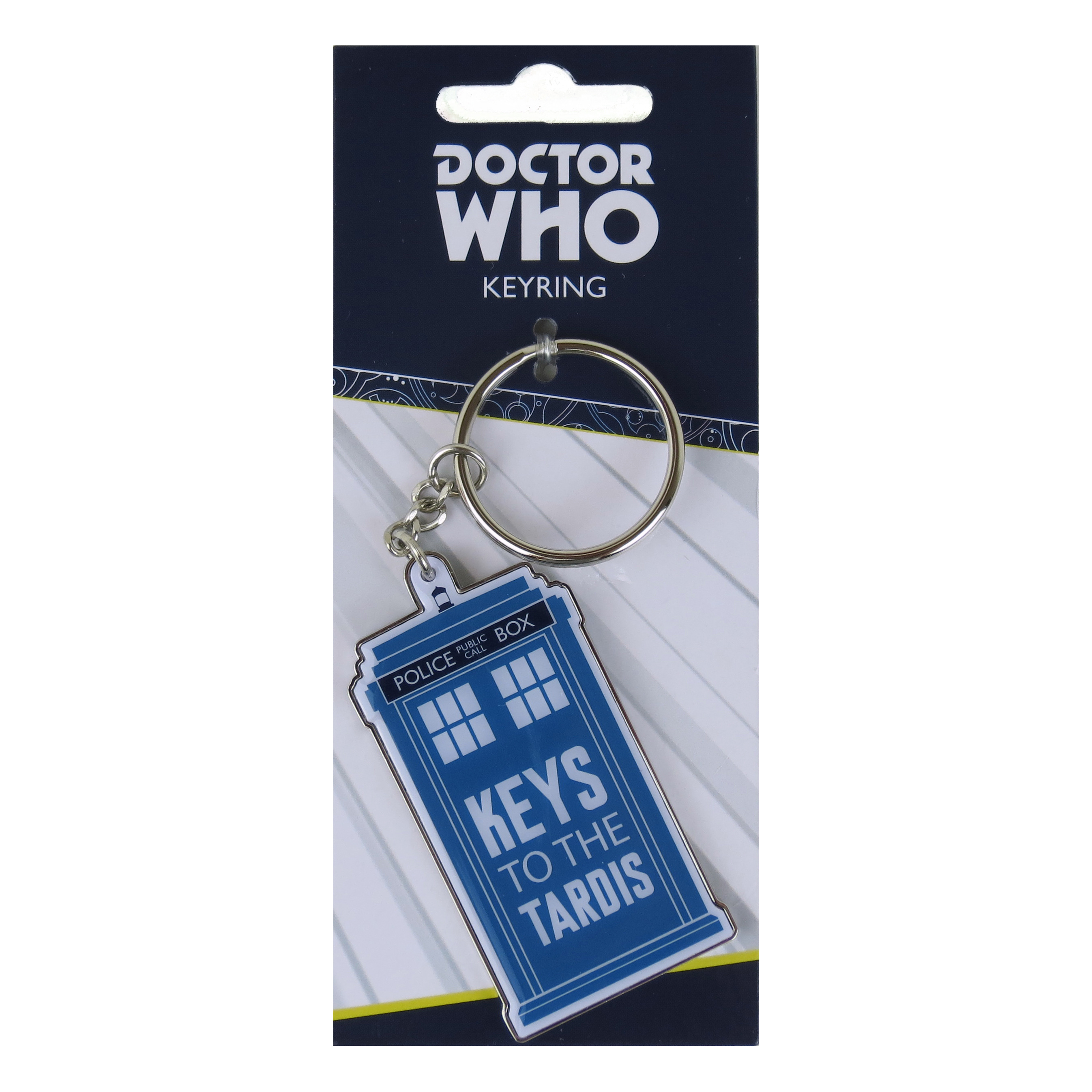 "Doctor Who ""Keys To The TARDIS"" Metal Keyring"