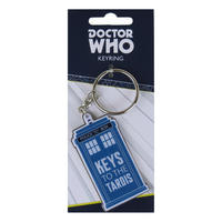 "Doctor Who ""Keys To The TARDIS"" Metal Keyring Thumbnail 1"