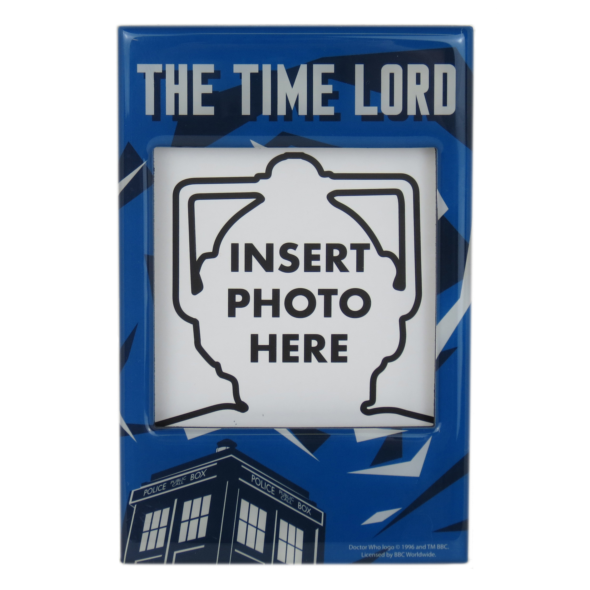 Doctor Who Time Lord Photo Frame Fridge Magnet