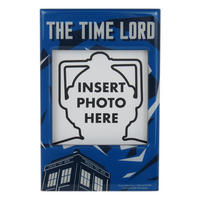 Doctor Who Time Lord Photo Frame Fridge Magnet Thumbnail 1