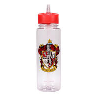 Harry Potter Gryffindor Crest 700ml Plastic Water Bottle Thumbnail 1
