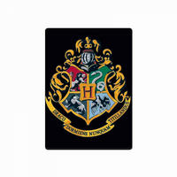 Harry Potter Black Hogwarts Crest Fridge Magnet