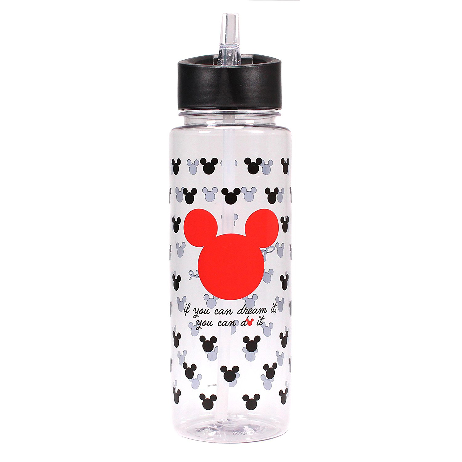 Mickey Mouse 700ml Plastic Water Bottle