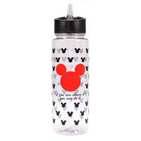 Mickey Mouse 700ml Plastic Water Bottle Thumbnail 1