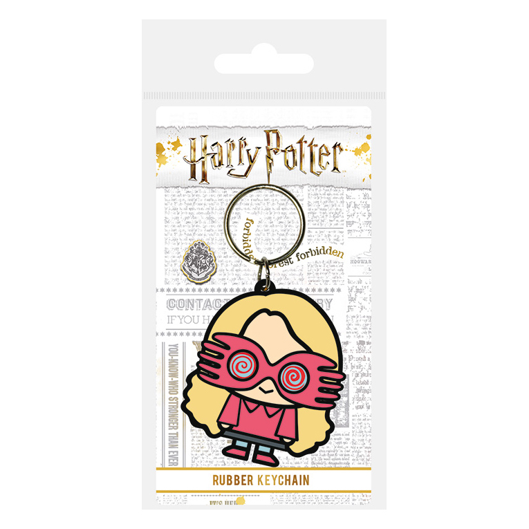 Harry Potter Chibi Luna Lovegood PVC Keyring