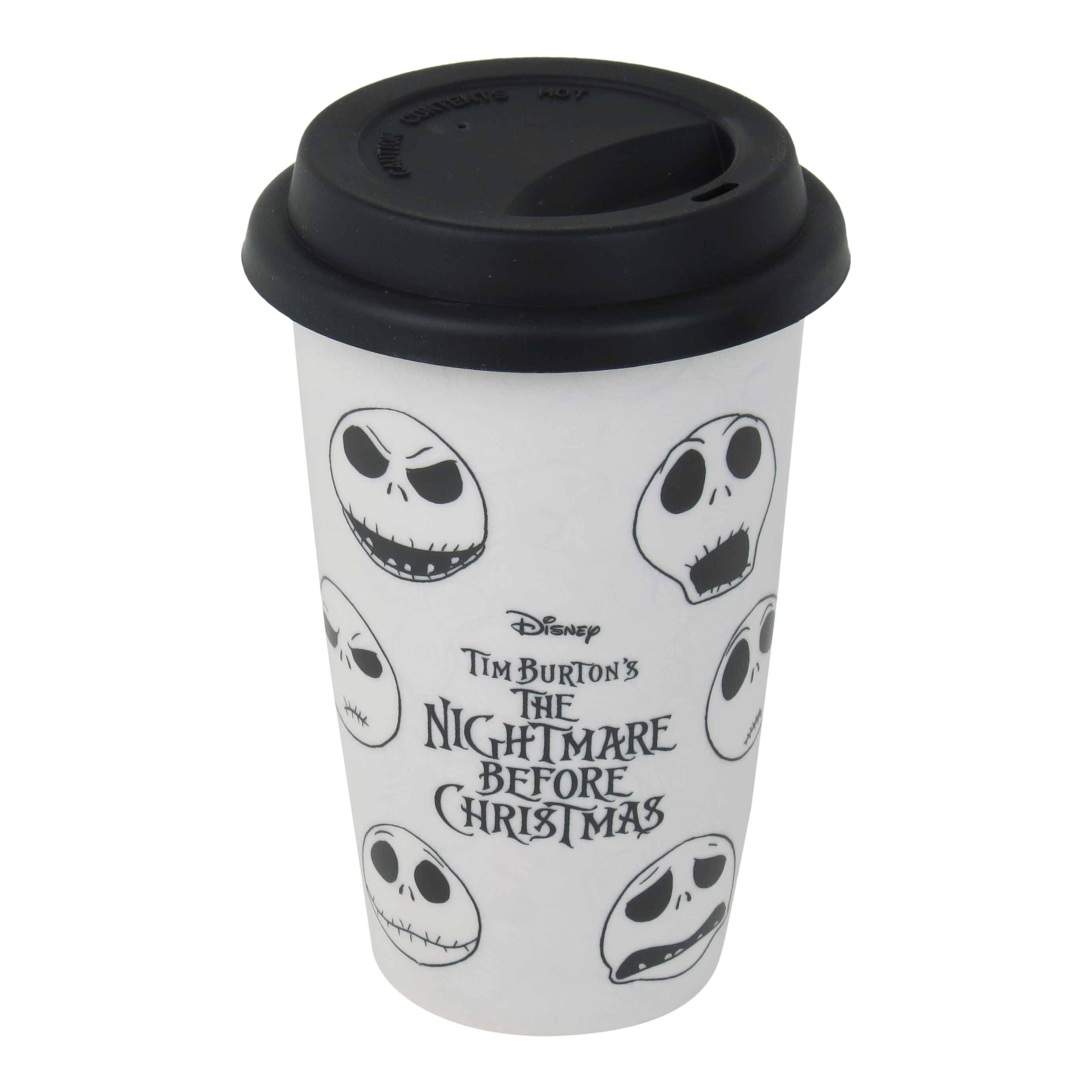 Nightmare Before Christmas Faces of Jack Travel Mug | Thermal ...