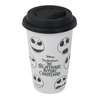 Nightmare Before Christmas Faces of Jack Travel Mug