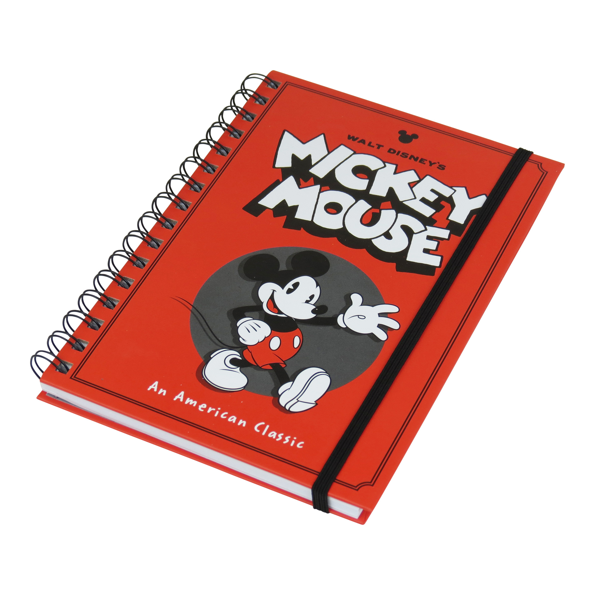 Mickey Mouse Waving A5 Notebook