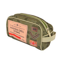 Dad's Army Washing Drill Kitbag Toiletry Bag