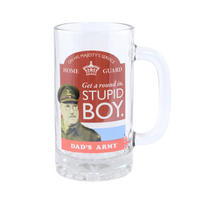 Dad's Army Stupid Boy Glass Stein Thumbnail 1