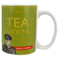 Dad's Army Green Tea Rations Mug