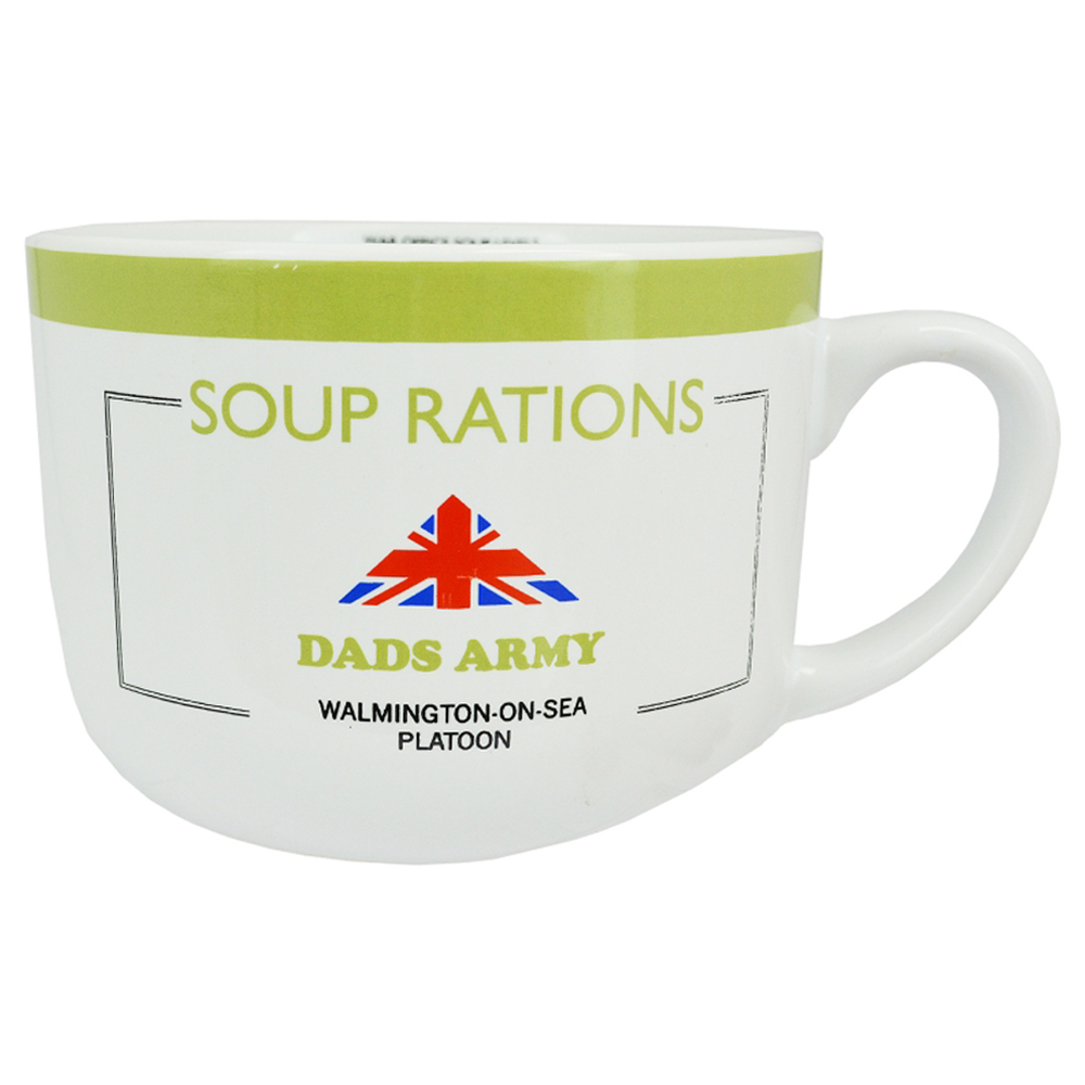 Dad's Army White Soup Rations Mug