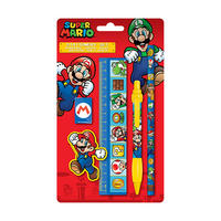 Super Mario Bros Stationery Set