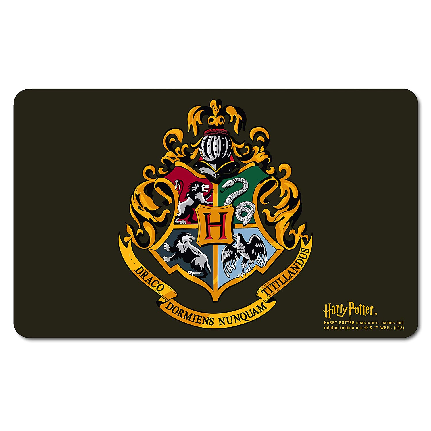 Harry Potter Hogwarts Crest Breakfast Cutting Board