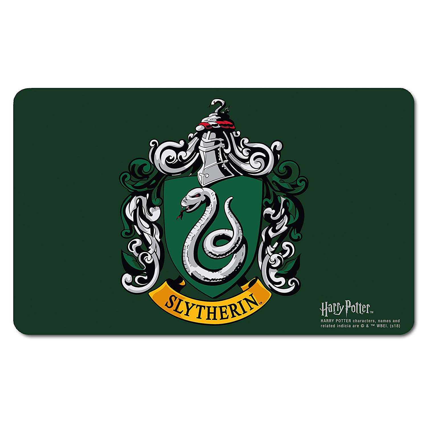 Harry Potter Slytherin Crest Breakfast Cutting Board