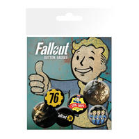 Fallout 76 Badge Set