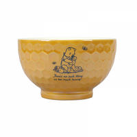 "Winnie The Pooh ""There's no such thing as too much hunny"" Ceramic Bowl Thumbnail 1"