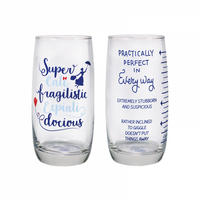 Set of 2 Mary Poppins Glasses Thumbnail 1