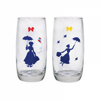 Set of 2 Mary Poppins Glasses Thumbnail 2