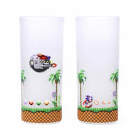 Set of 2 Sonic The Hedgehog Glasses