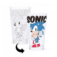 Sonic The Hedgehog Heat Change Glass