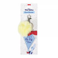 "Mary Poppins ""Let's Go Fly A Kite"" PU Keyring Thumbnail 2"