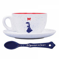 "Mary Poppins ""Practically Perfect In Every Way"" Cup & Saucer Thumbnail 3"