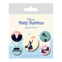 Mary Poppins Badge Set Thumbnail 1