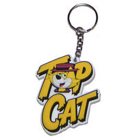 Hanna Barbera Top Cat Rubber Keyring Thumbnail 1