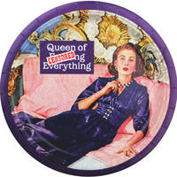 8 Queen Of F*cking Everything Paper Plates