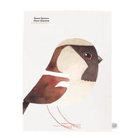 Matt Sewell House Sparrow Tea Towel