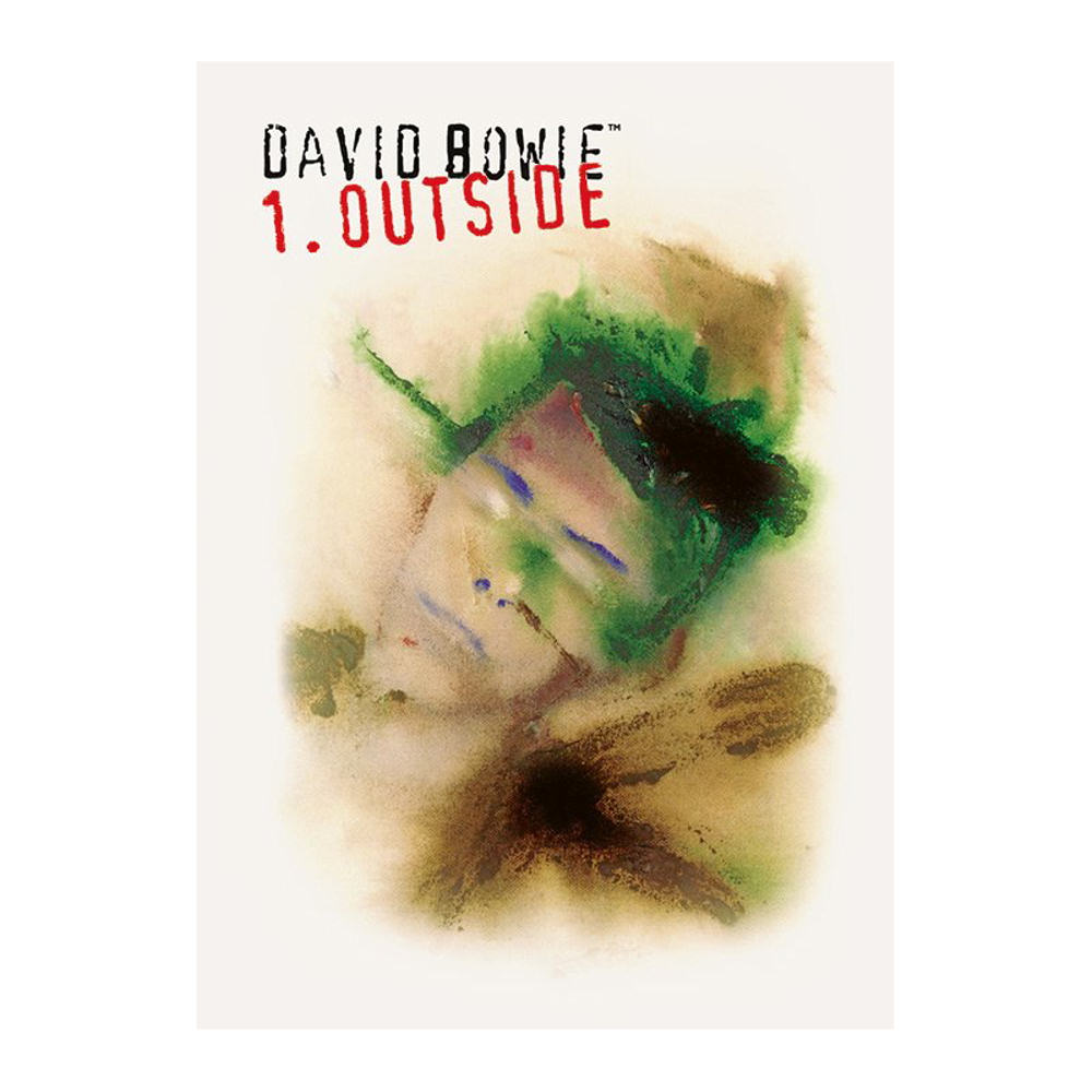 David Bowie 1. Outside Postcard
