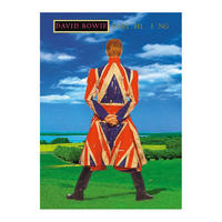 David Bowie Earthling Postcard Thumbnail 1