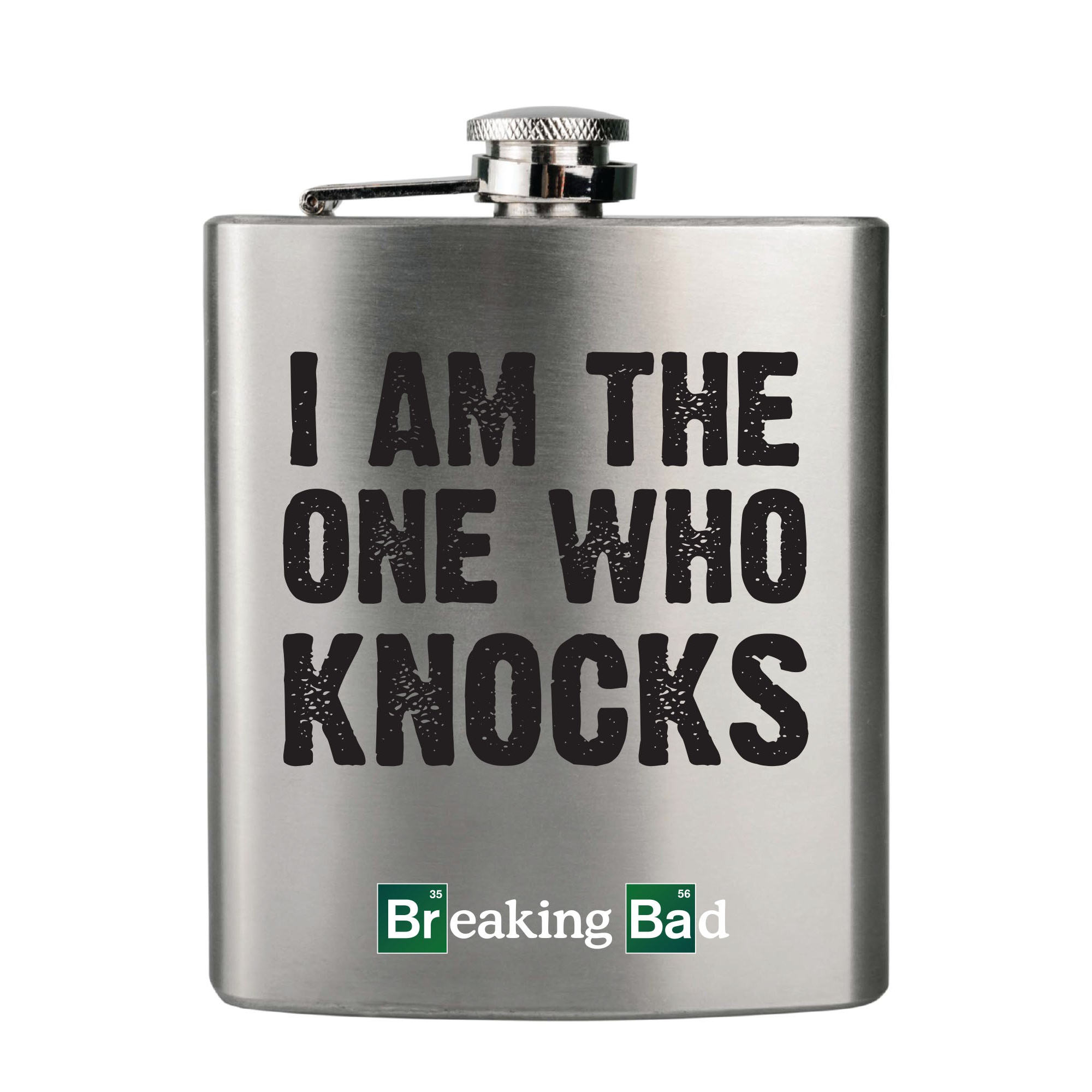 "Breaking Bad ""I Am The One Who Knocks"" Hip Flask"