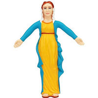"Mary Mother of Jesus 6"" Bendable Action Figure"
