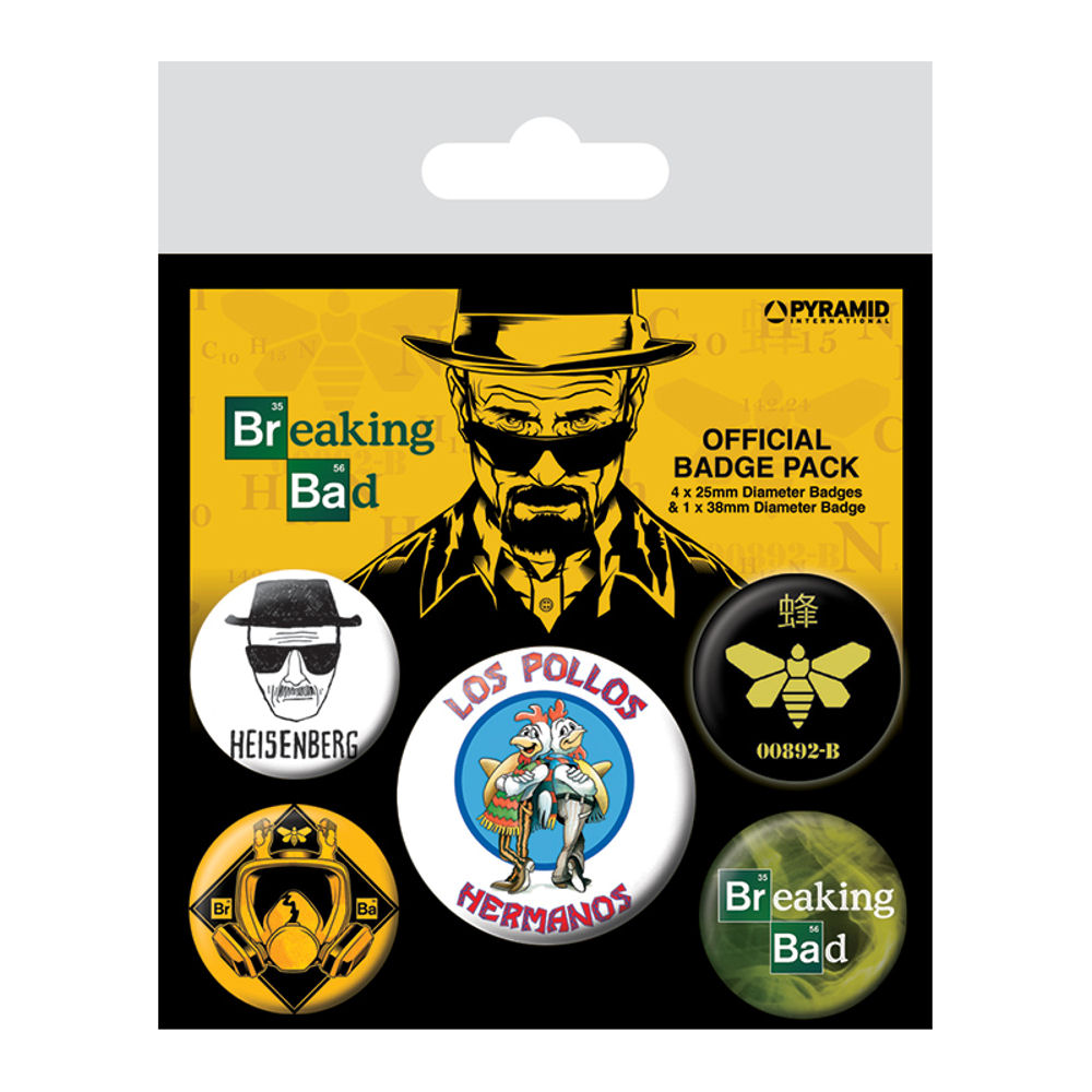 Breaking Bad Los Pollos Hermanos Badge Set