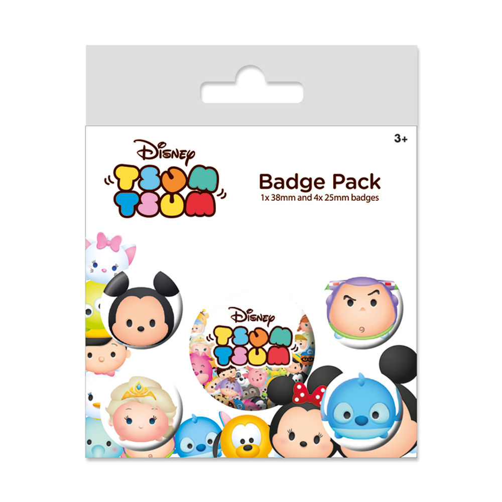 Disney Tsum Tsum Badge Set