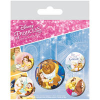 Beauty & The Beast Badge Set Thumbnail 1
