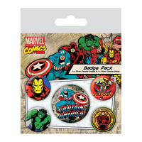 Captain America Badge Set Thumbnail 1