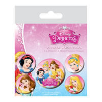 Disney Princesses Badge Set Thumbnail 1