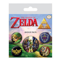 The Legend Of Zelda Badge Set