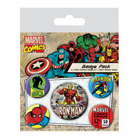 Iron Man Badge Set