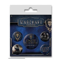 Warcraft Alliance Badge Set