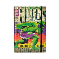 Hulk Comic Cover A5 Journal Notebook