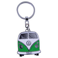 VW Collection Green Camper Van Enamel Keyring