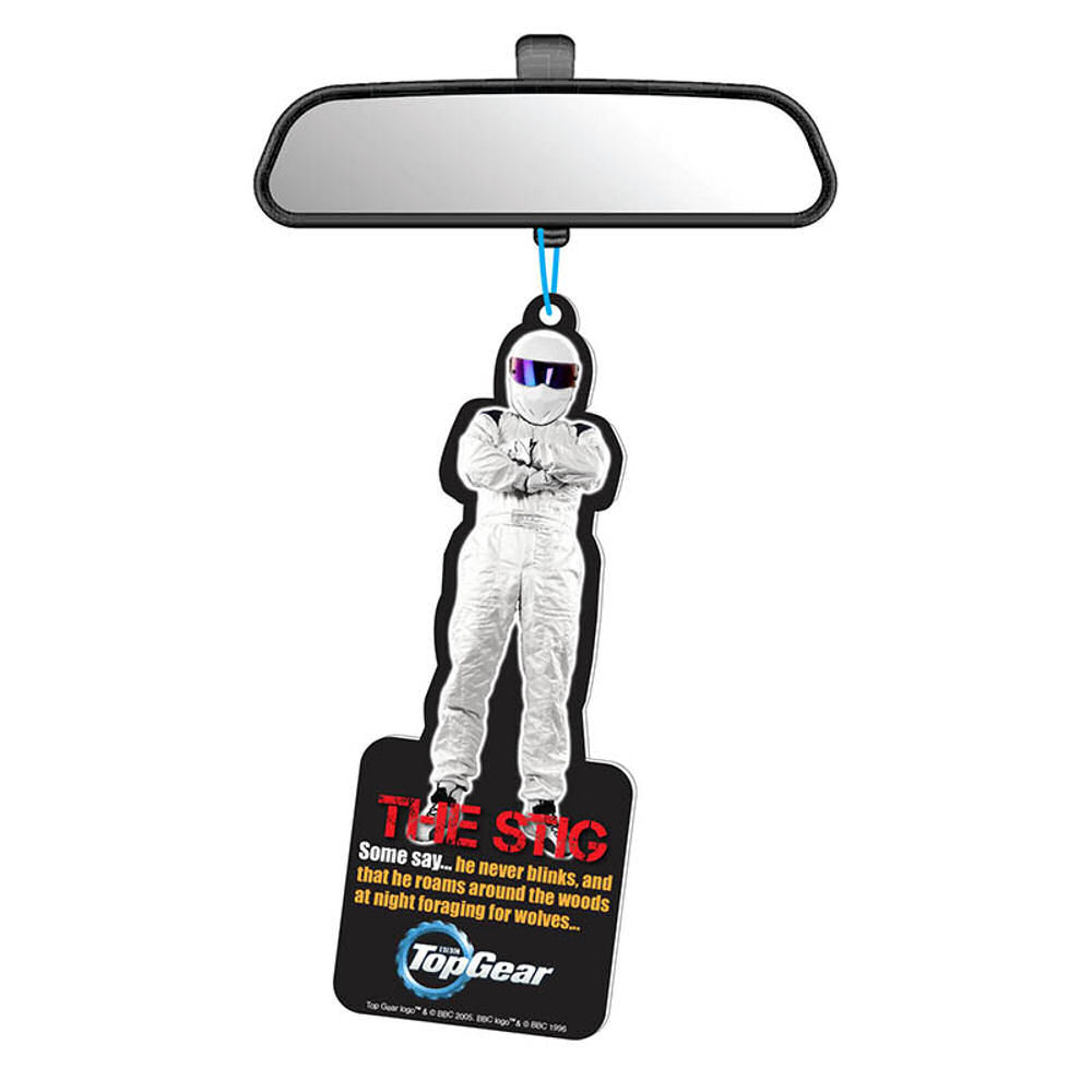 Top Gear The Stig Air Freshener Car Novelty Scent Official