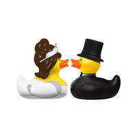 Bride & Groom Set of 2 Mini Bud Ducks