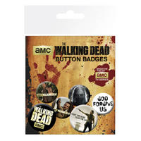 The Walking Dead Badge Set
