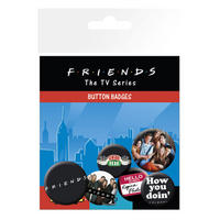 Friends Badge Set