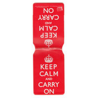 """Keep Calm And Carry On"" Travel/Oyster Card Holder"